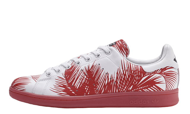 Adidas-x-Pharrell-x-BBC-Stan-Smith-Palm-Tree-Red