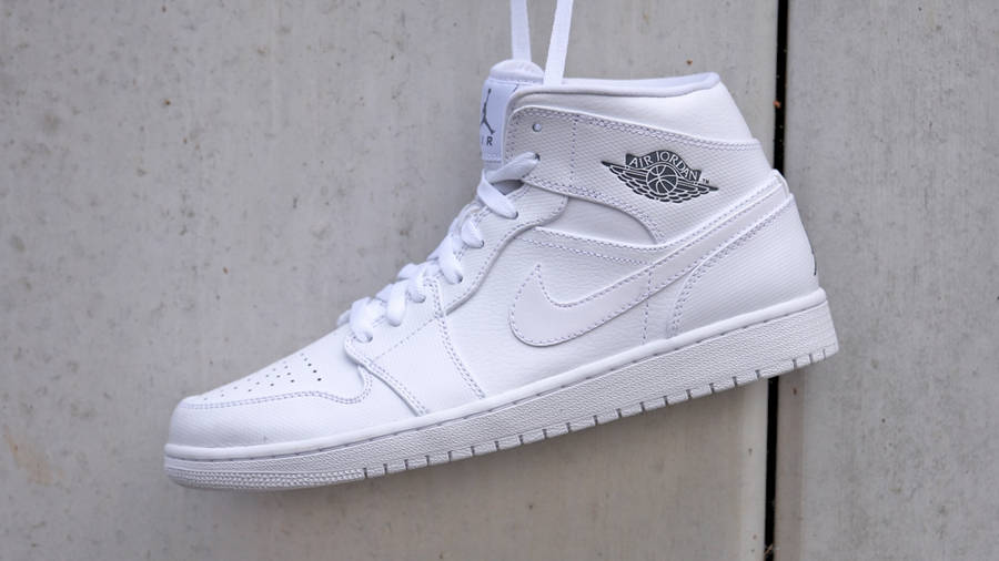 Nike Air Jordan 1 Mid White | Where To
