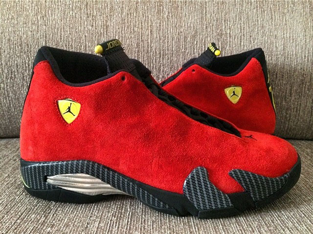 Nike Air Jordan 14 Red Ferrari Where To Buy 654459 670 The Sole Supplier