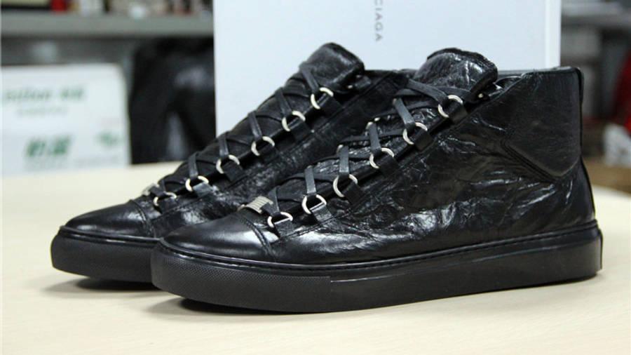 Balenciaga Arena Black Leather | Where