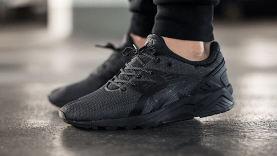 Goma cansado grado  ASICS Gel Kayano EVO Triple Black | Where To Buy | 187331 | The Sole  Supplier