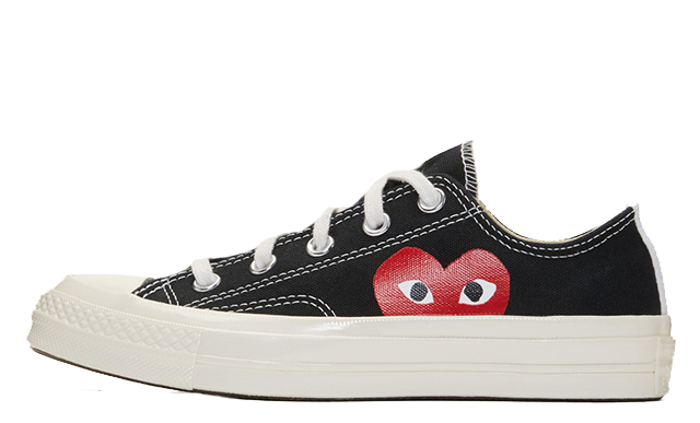 Comme des Garcons Play x Converse Chuck Taylor All Star 70 Low Black