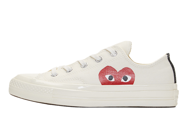 al menos insecto Farmacología  Comme des Garcons Play x Converse Chuck Taylor All Star 70 Low White |  Where To Buy | 150207C | The Sole Supplier