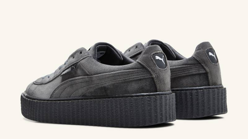 fenty puma creepers grey