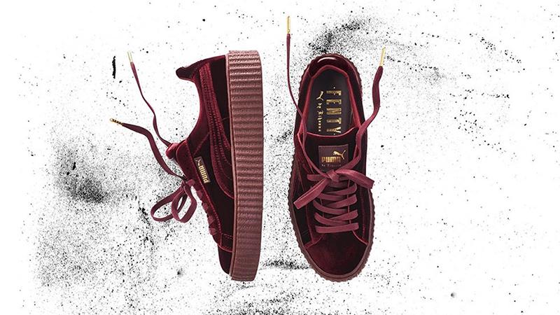 fenty puma sneakers velvet