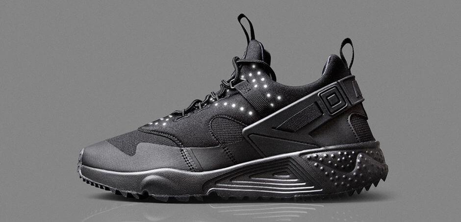 Nike Air Huarache Utility Black | Where