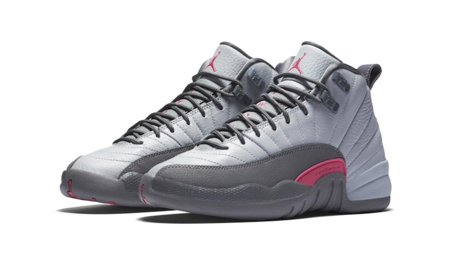 Jordan 12 Wolf Grey Pink | Where To Buy