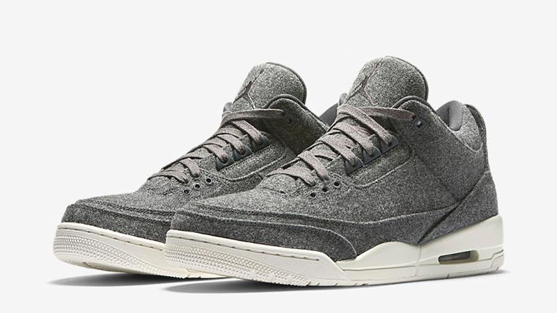 Jordan 3 Wool Grey | Where To Buy