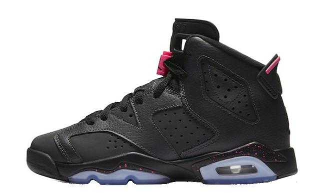 Jordan-6-GS-Black-Pink