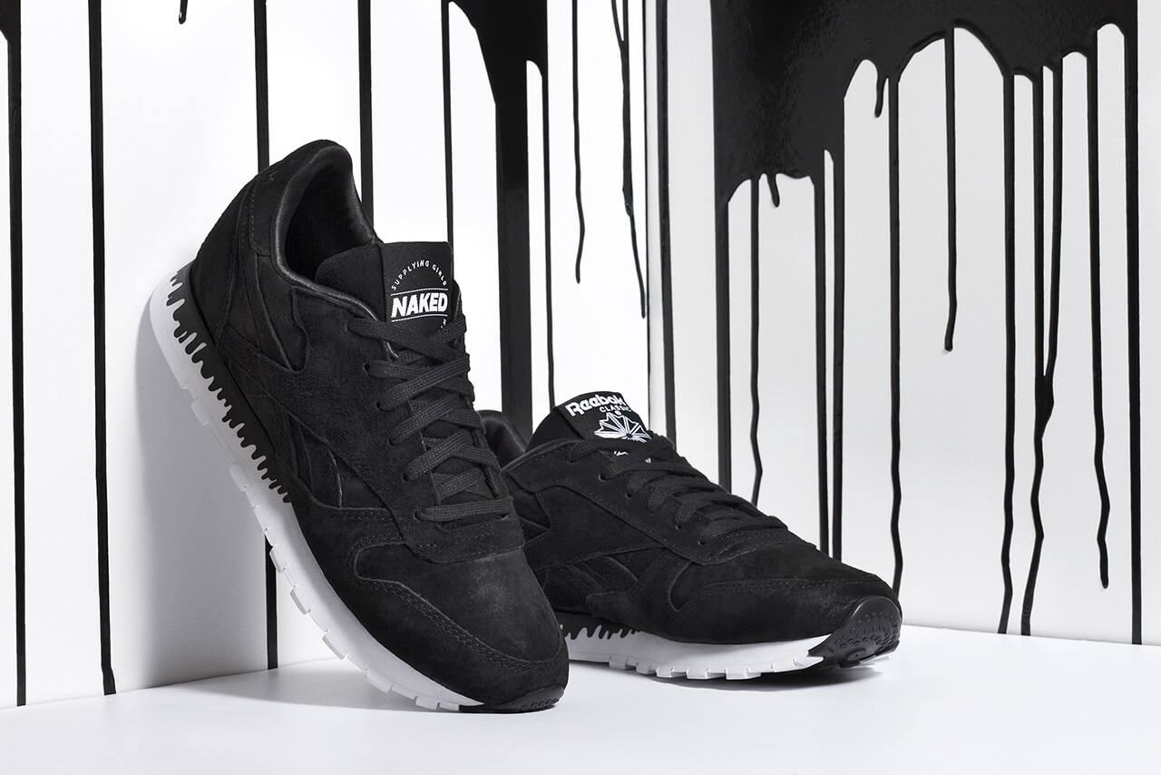 Naked x Reebok Classic Leather Drip
