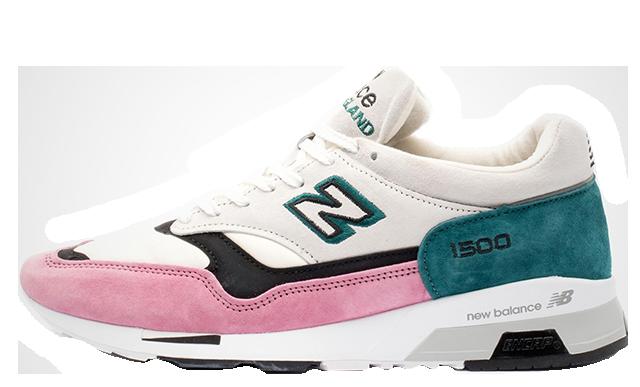 New Balance M1500PFT White Pink