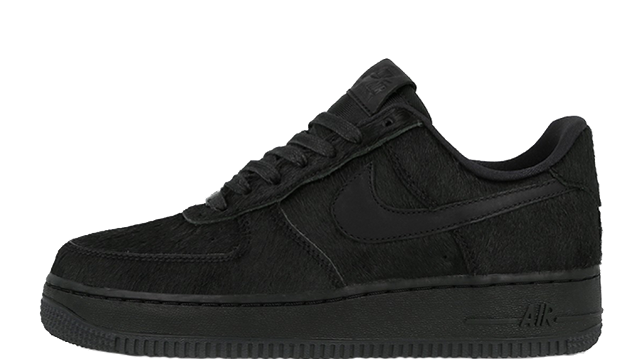 Nike Air Force 1 07 Black Pony Hair