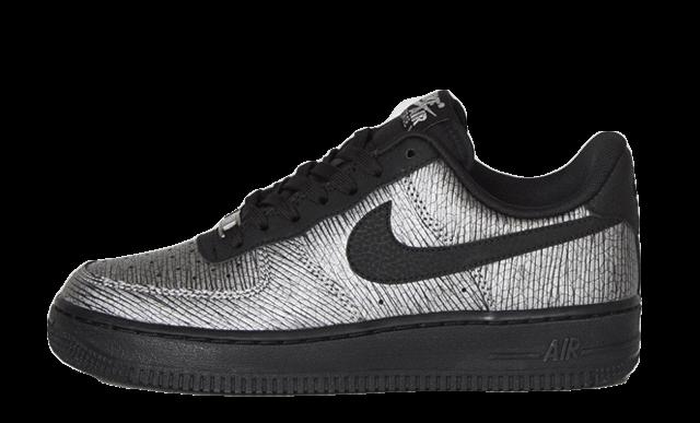 Nike Air Force 1 07 Black Silver