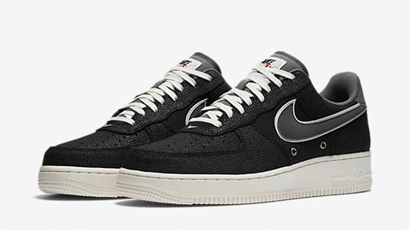 Nike Air Force 1 07 LV8 Men Black Grey