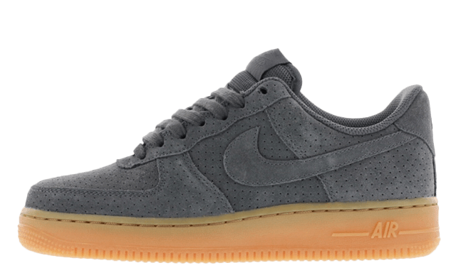 Nike Air Force 1 07 Suede Dark Grey Where To Buy 749263
