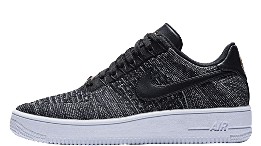 Nike Air Force 1 Flyknit nero