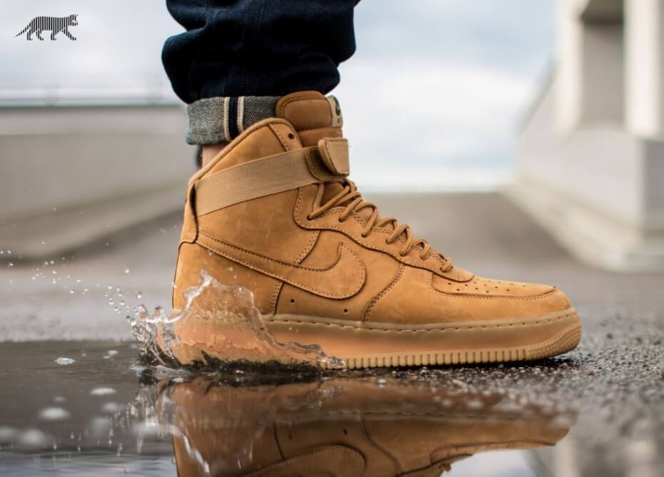 Hiking High Tops: The Nike Air Force 1