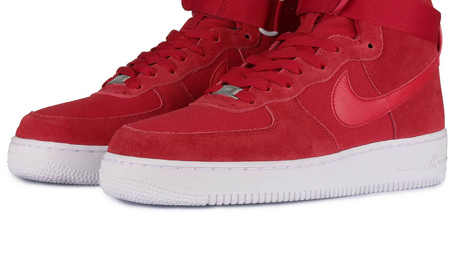 esfuerzo Marchito Dos grados  Nike Air Force 1 High 07 Gym Red | Where To Buy | 315121-604 | The Sole  Supplier