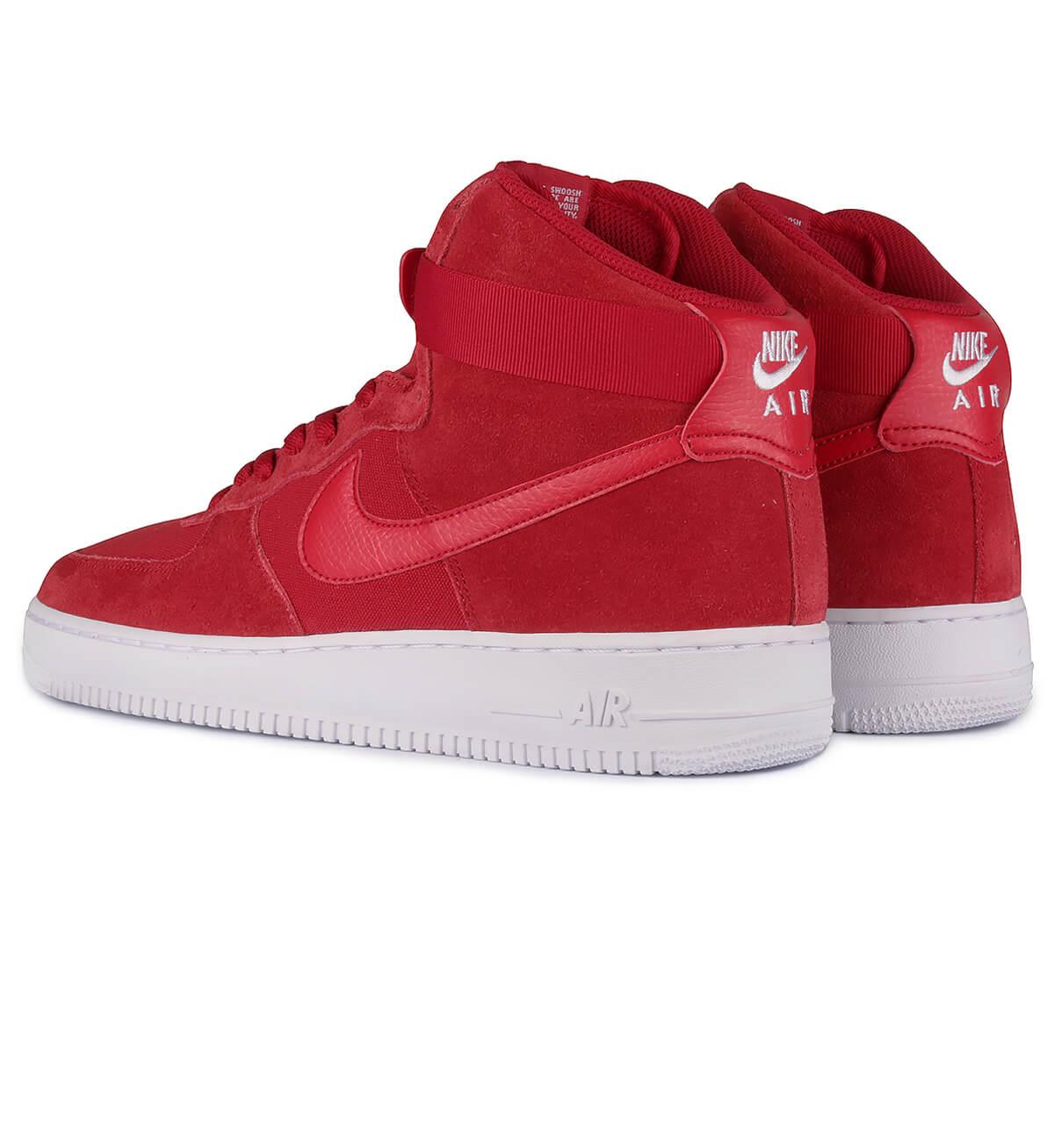 nike air force 1 high rouge