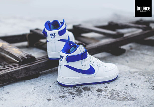 Nike Air Force 1 High OG White Blue | SneakerFiles