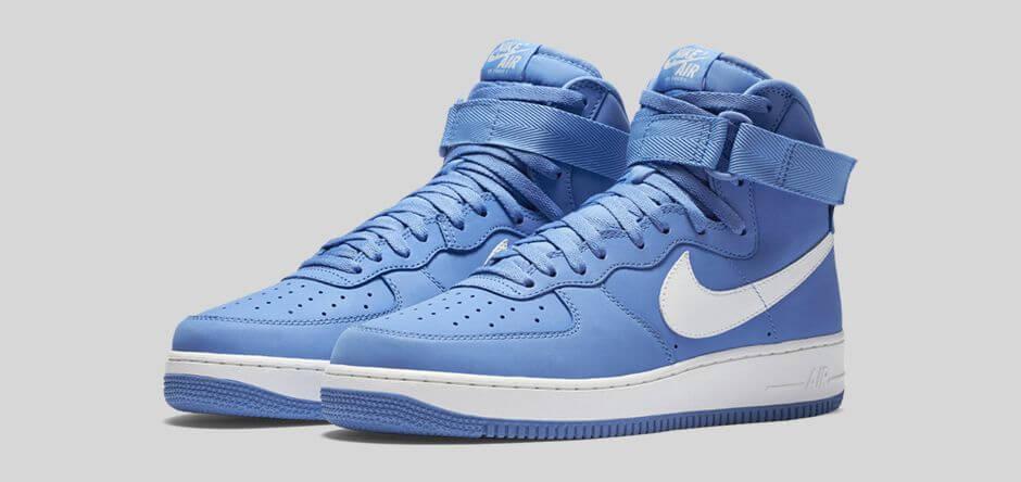 Nike Air Force 1 High Retro Carolina Suede