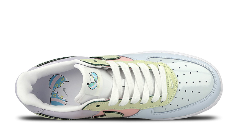 Nike Air Force 1 Low Easter Pack Blue Lime