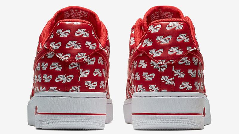 Nike Air Force 1 Low Logos Pack Red
