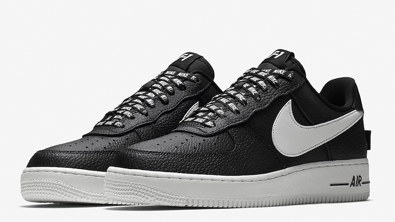 Nike Air Force 1 Low NBA Pack Black White