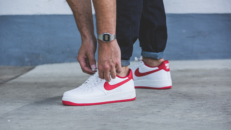 Nike Air Force 1 Low White Red | Where