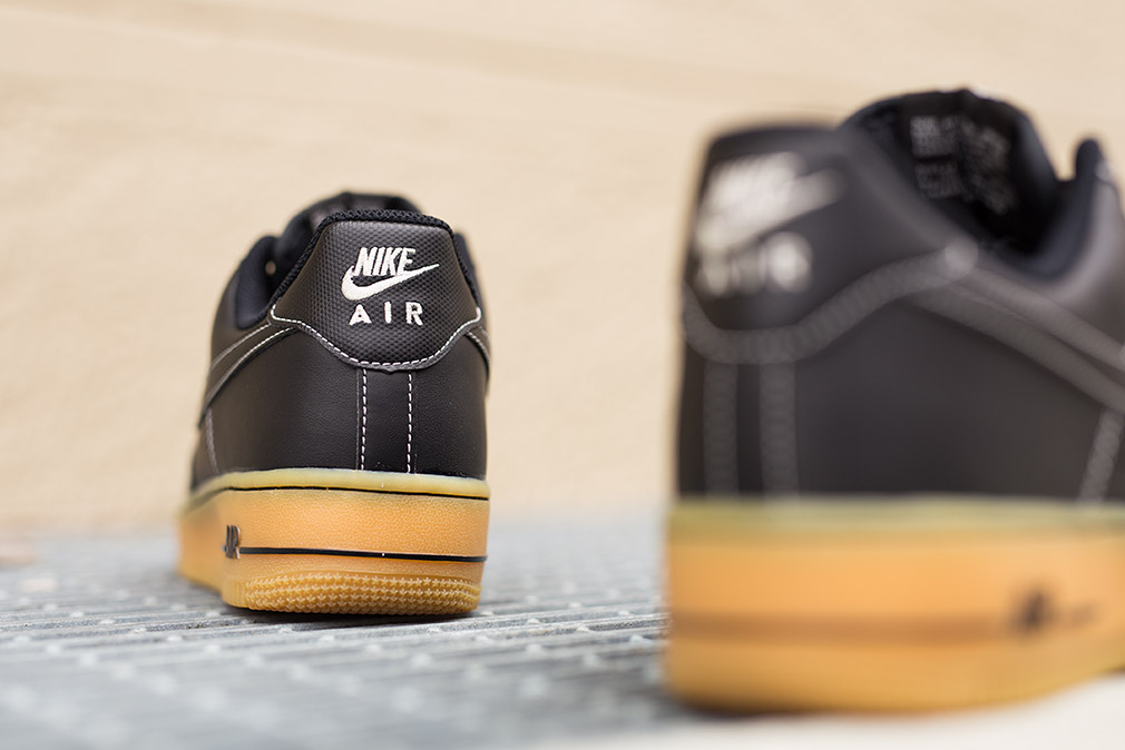separation shoes new lifestyle official store Nike Air Force 1 Low Winter Workboot Black - Where To Buy - 488298 ...