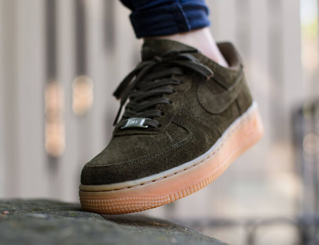 Nike Air Force 1 07 Suede Dark Loden Where To Buy 749263