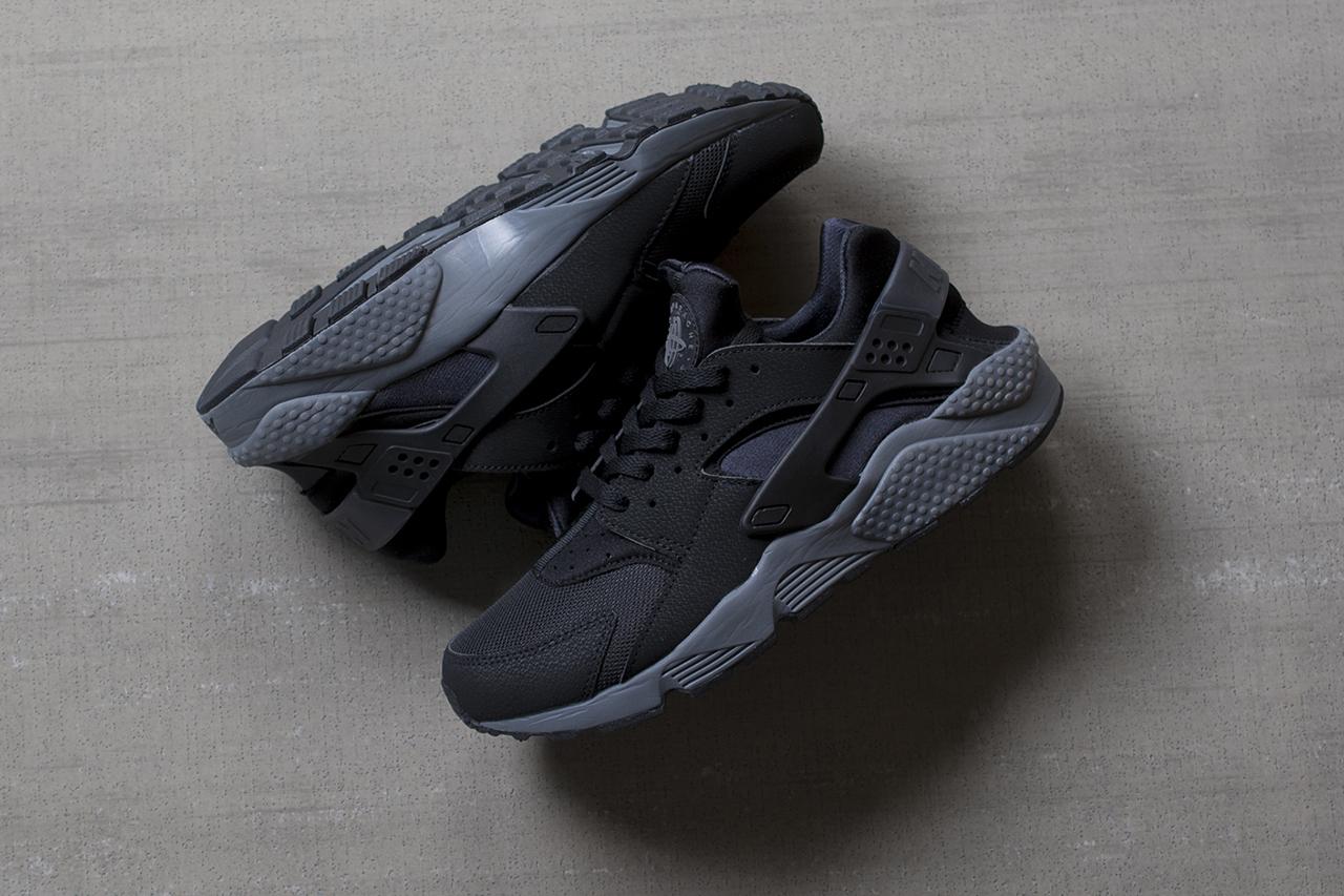 Nike Air Huarache Black Dark Grey