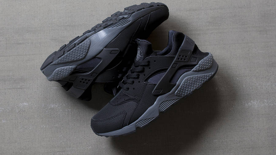 Nike Air Huarache Black Dark Grey   Where To Buy   318429-010 ...