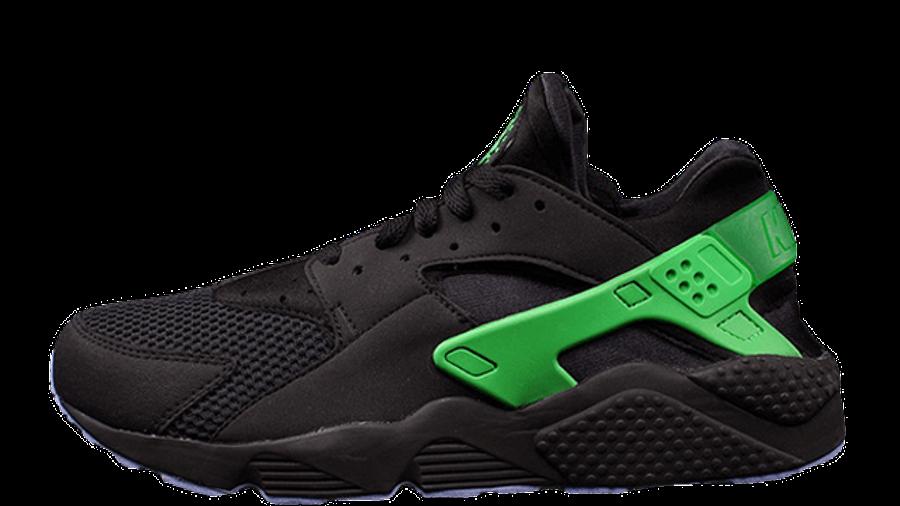 Nike Air Huarache Black Poison Green   Where To Buy   705070-001 ...