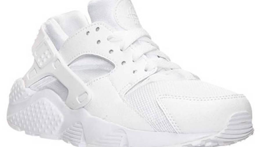 Nike Air Huarache Junior All White | Where To Buy | 654275-110 ...
