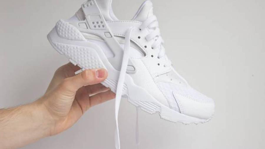 Chorrito Pilar Peculiar  Nike Air Huarache Junior All White | Where To Buy | 654275-110 | The Sole  Supplier