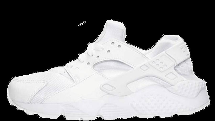 Nike Air Huarache Junior All White   Where To Buy   654275-110 ...