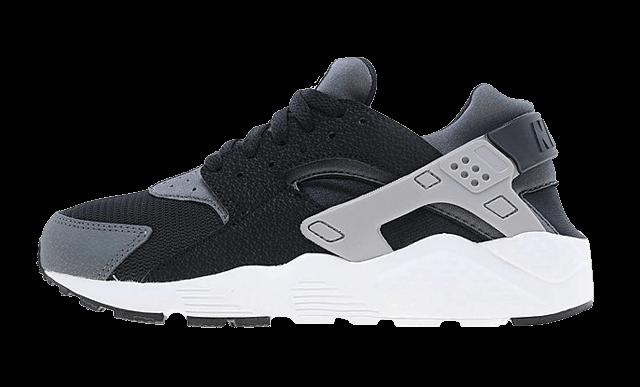 grey black huarache