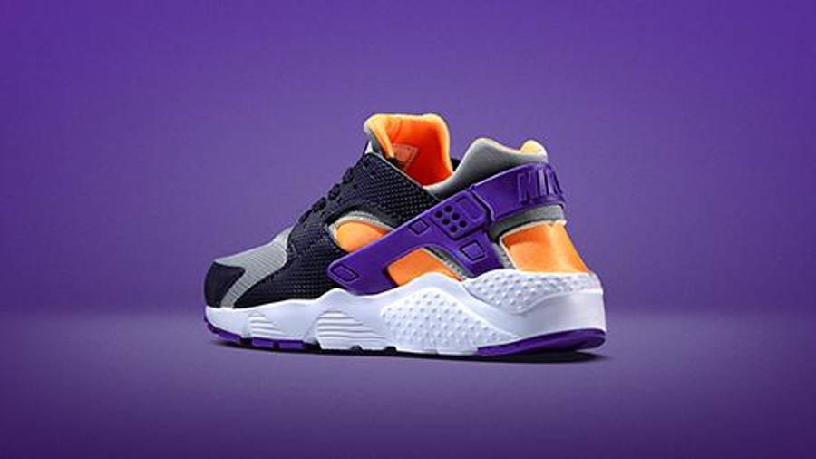 Nike Air Huarache Junior Grey Orange   Where To Buy   TBC   The ...
