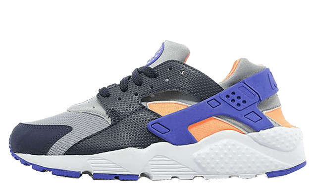 Nike Air Huarache Junior Grey Orange
