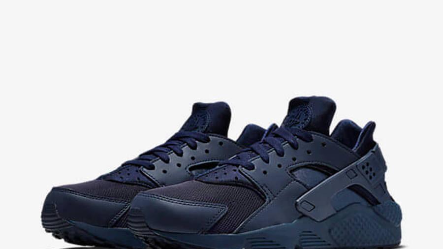 Nike Air Huarache Midnight Navy | Where To Buy | 318429-440 | The ...