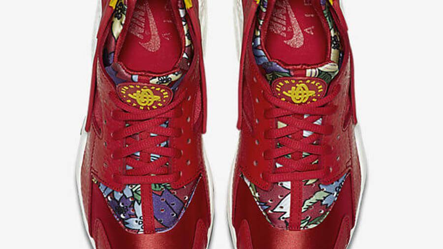 Nike Air Huarache Red Aloha Floral | Where To Buy | 725076-601 ...