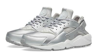 Nike Air Huarache Run SE Metallic Silver   Where To Buy   859429 ...