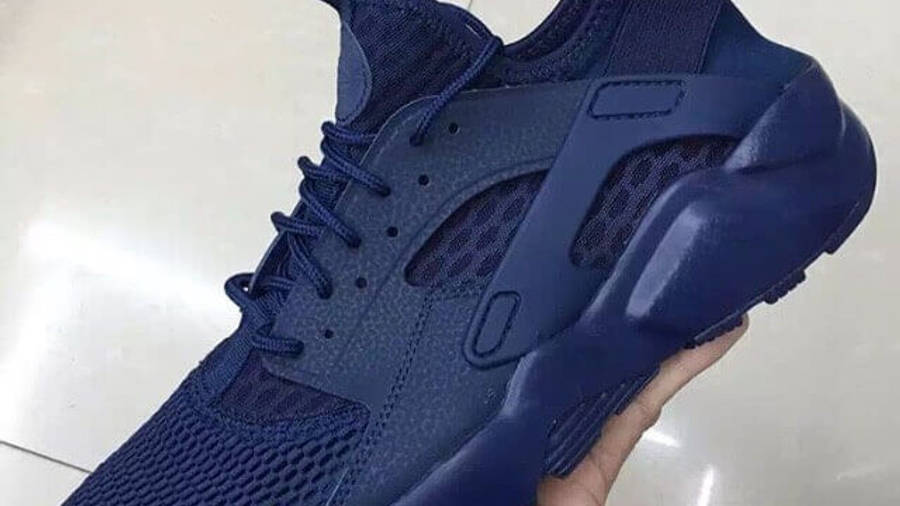 Nike Air Huarache Ultra BR Midnight Navy | Where To Buy | 833147 ...