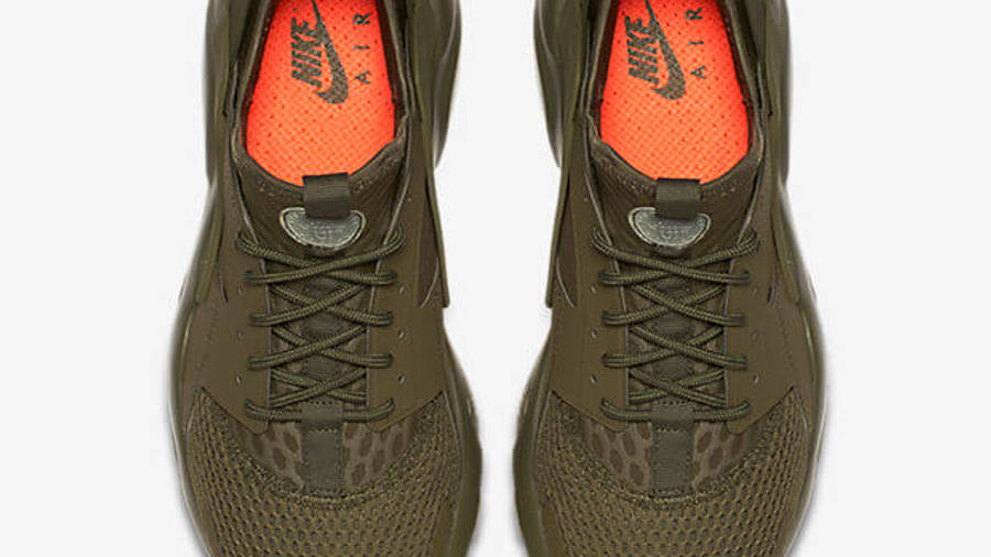 Nike Air Huarache Ultra BR Olive | Where To Buy | 833147-200 | The ...