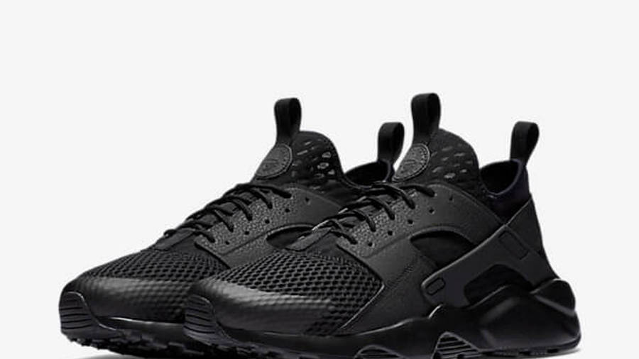 Nike Air Huarache Ultra BR Triple Black | Where To Buy | 833147 ...