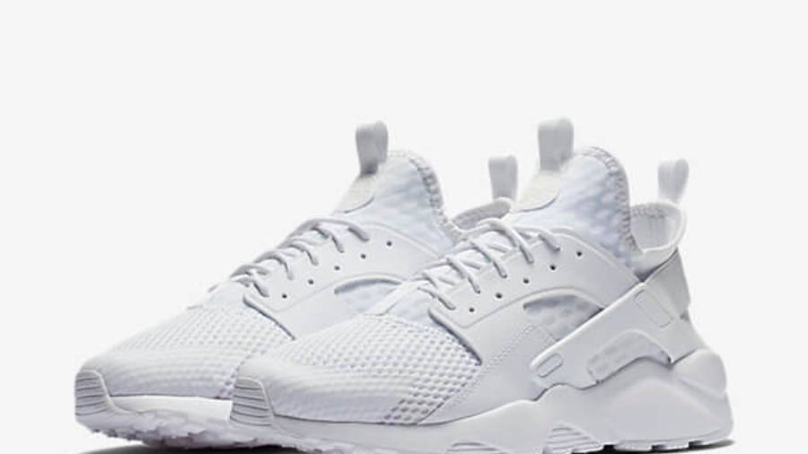 Nike Air Huarache Ultra BR Triple White | Where To Buy | 833147 ...
