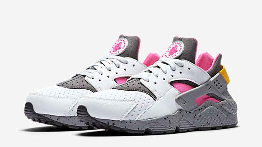 Nike Air Huarache SE Platinum Pink Blast   Where To Buy   852628 ...