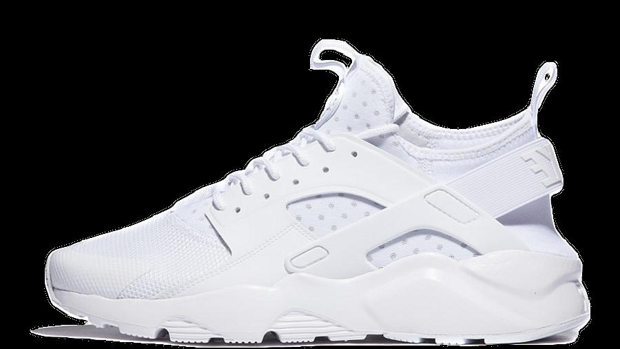 Nike Air Huarache Ultra BR Triple White   Where To Buy   833147 ...