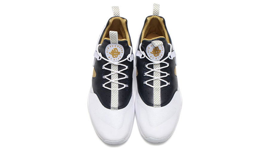 Nike Air Huarache Utility Premium White Gold | Where To Buy ...